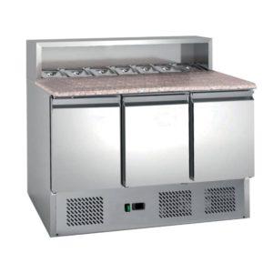 tour 3 portes réfrigéré à pizza reconditionné L2G occasion révisé