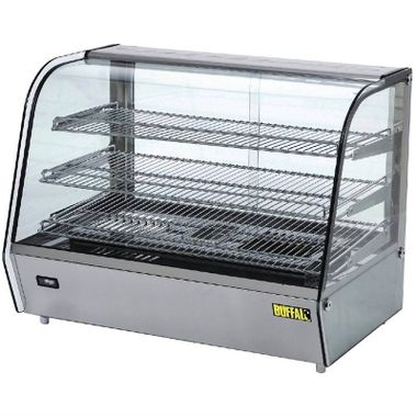 vitrine chaude cuisine restauration occasion reconditionné